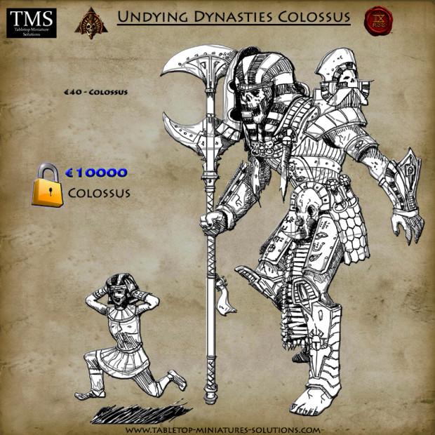Nouvelles figurines des Dynasties Immortelles sur Indiegogo 14_colosus_gdiyhc