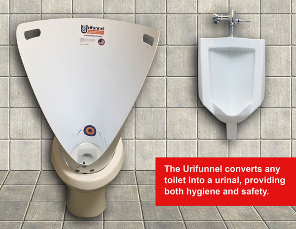 Urifunnel - Portable Urinal For Males Of All Ages | Indiegogo