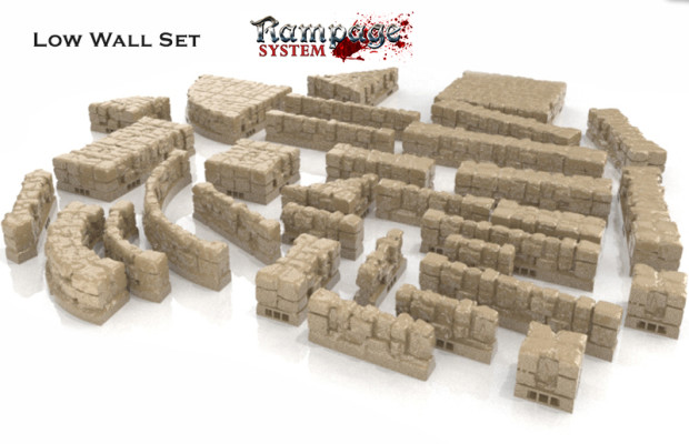RAMPAGE - 3D Printable Scenery Building System - IGG - Kickstarter