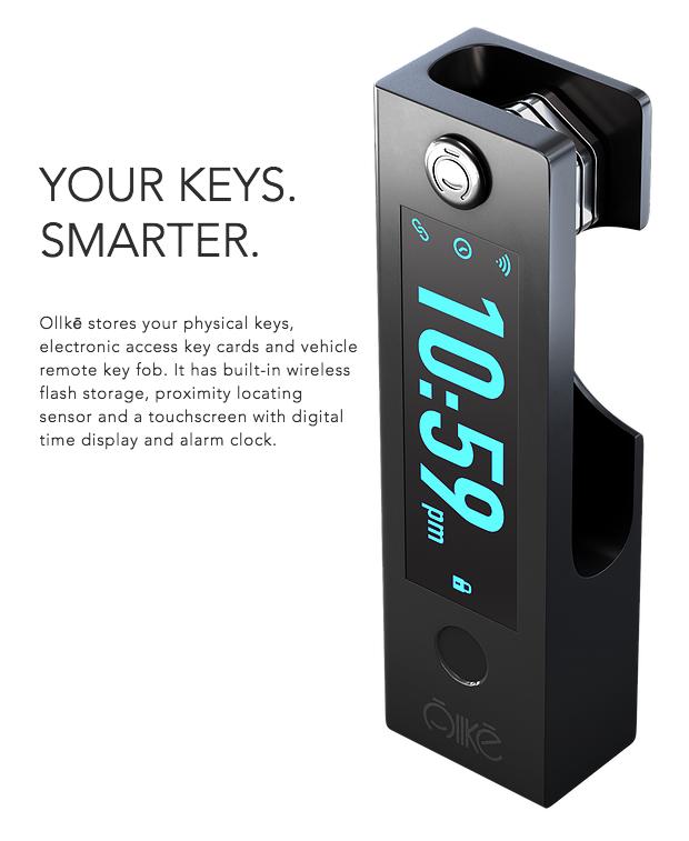 Ollkē - The Smartest Keychain | Indiegogo