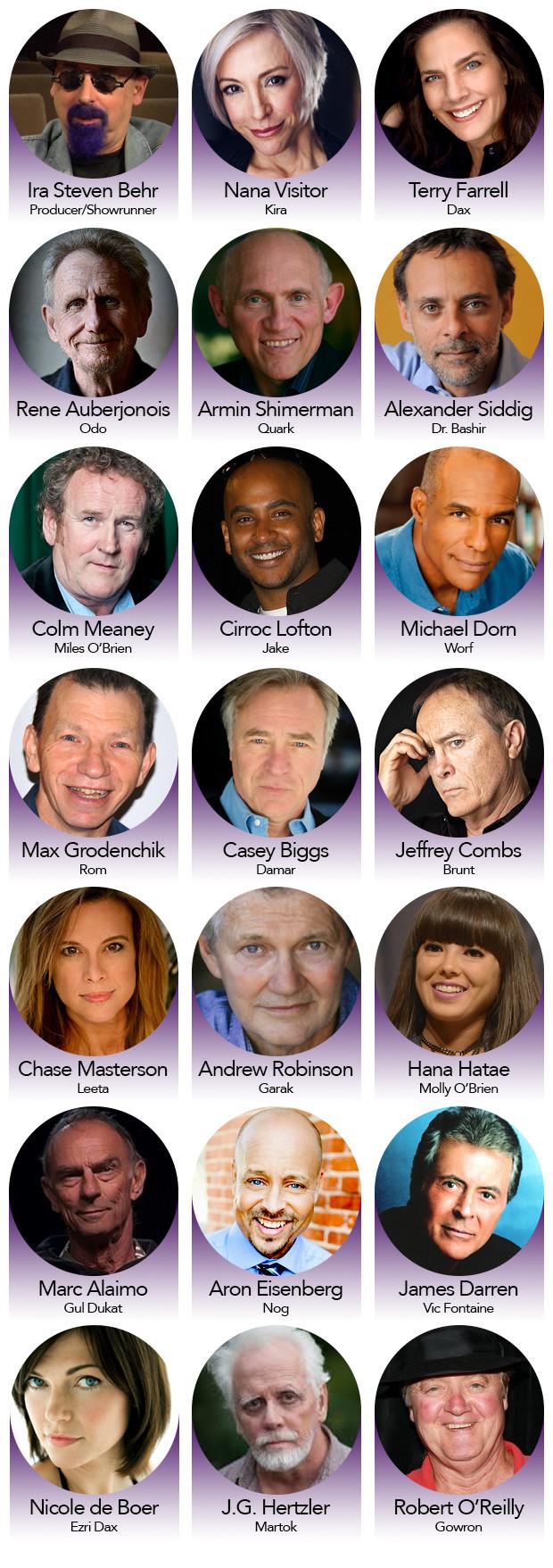 """Autori e attori che hanno partecipato a Star Trek Deep Space Nine appariranno nel documentario """"What we left behind""""- TG TREK: Notizie, Novità, News da Star Trek"""