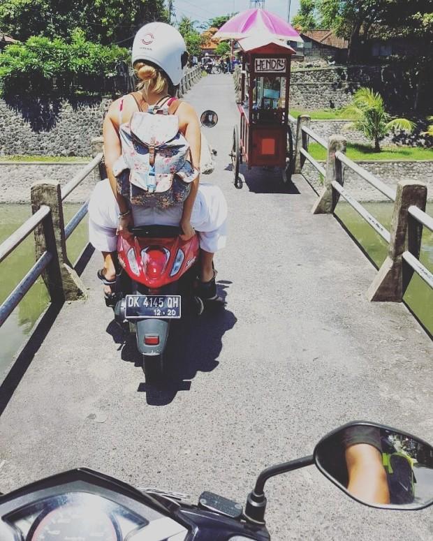 Founder of PIYOGA Larissa Miller Adventures Through Bali to start her conscious clothing brand PIYOGA