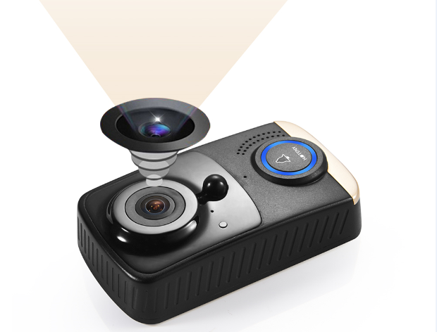 180 degree wide viewangle u0026 3mega camera lens can cover all range of front door and yard nonblind area