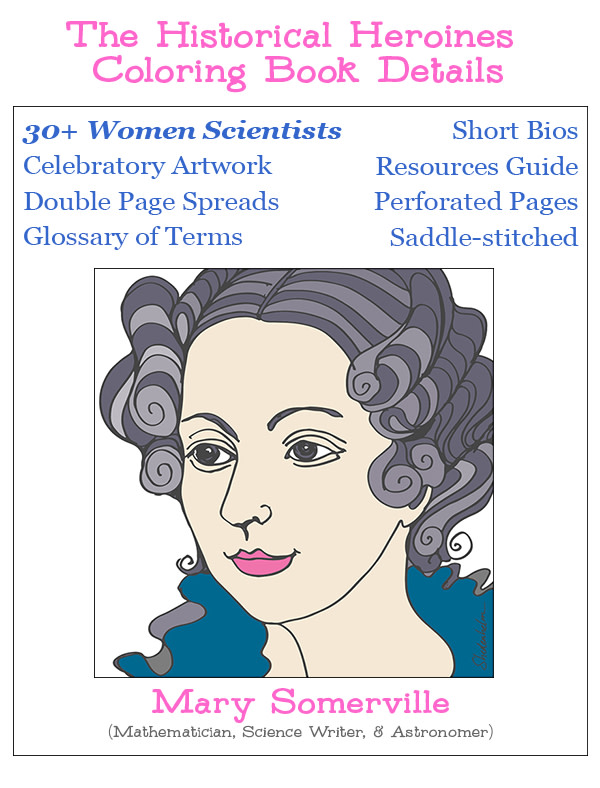 Science Coloring Book : Historical heroines coloring book:women in science indiegogo