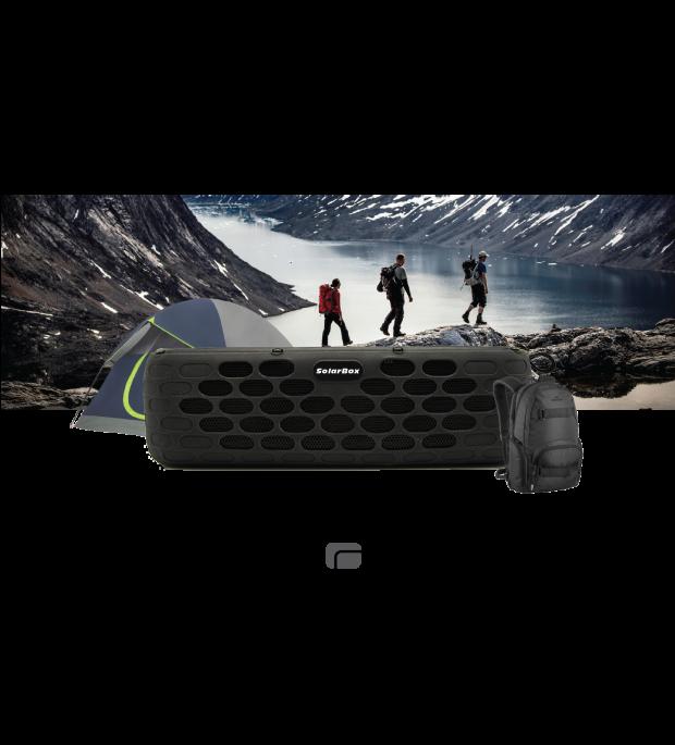 SolarBox: Solar Power Waterproof Portable Speaker on BackerClub