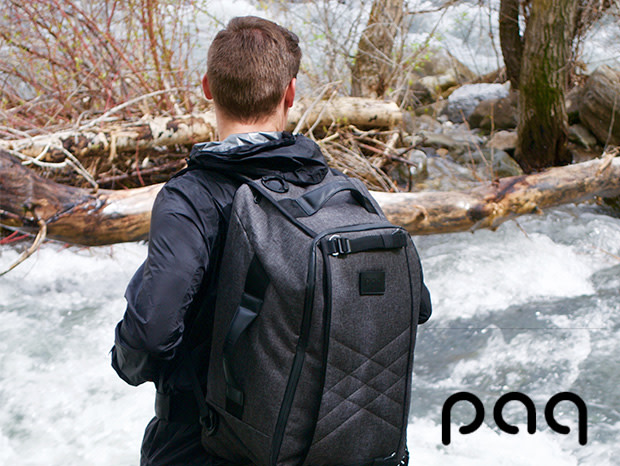 The Paq carry on travel bag