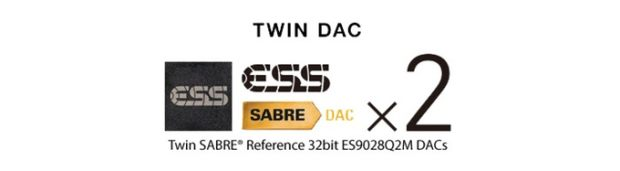 AuricSound Twin ESS SABRE 32bit ES9028Q2M DAC ADC on BackerClub
