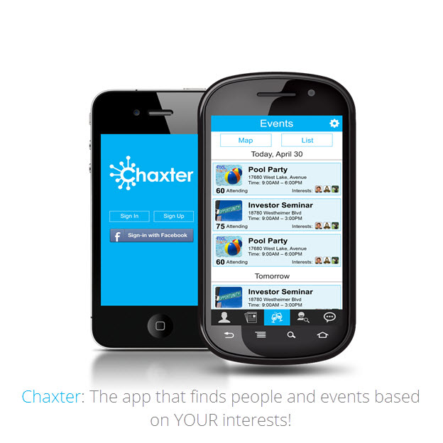 Chaxter: The Future Of Interest Based Social Apps | Ingogo on map language, map from point to point, map of all the states, map of london 1880, map features, map data, map directions point to point, map ark, map of boulder colorado and surrounding area, map millbrook al, map of the european alps, map google, map guide, map travel, map of kensington san diego, map math, map london south kensington, map of negros philippines, map of appalachia, map of merrimack valley massachusetts,