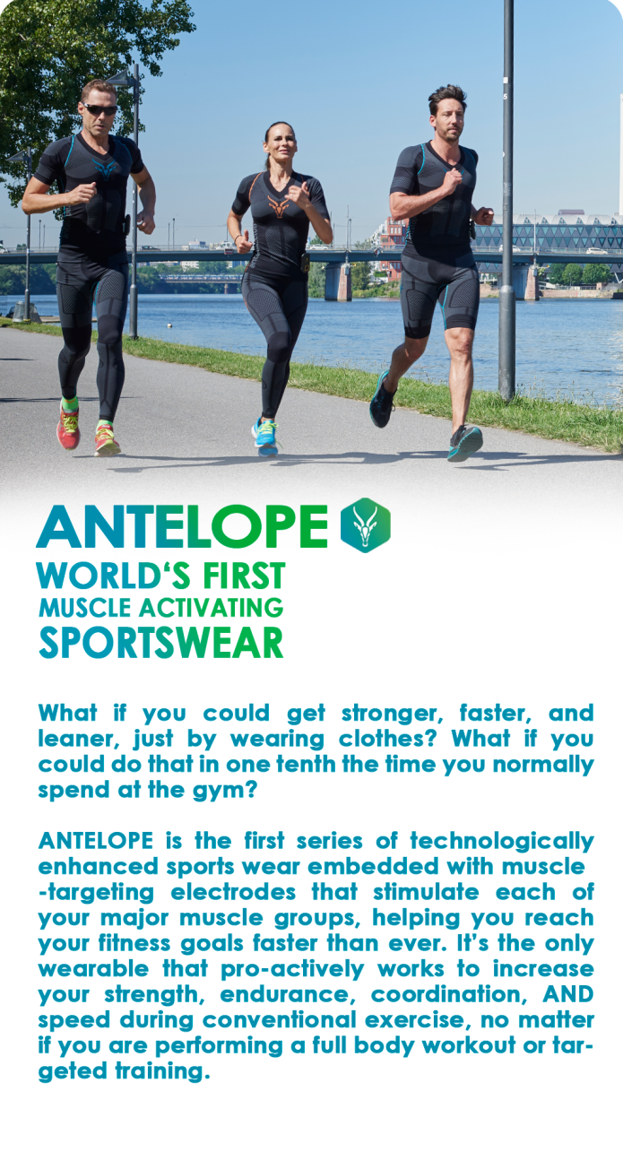 Antelope Sportswear Muscle Activating Smartsuit Indiegogo The Totalbody Circuit Workout You Can Do While Travel Our Product Range Includes Different Products That Help Get Most Out Of Your