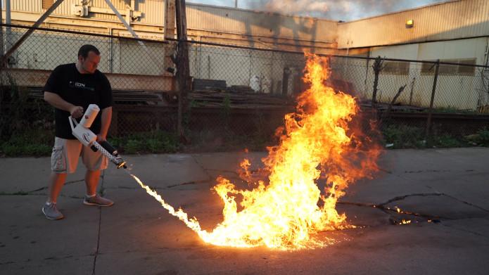 XM42: The Handheld Flamethrower | Indiegogo