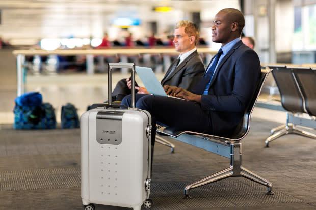 Finest Andiamo iQ Smart Luggage: Wi-Fi, Charger & More | Indiegogo YX36