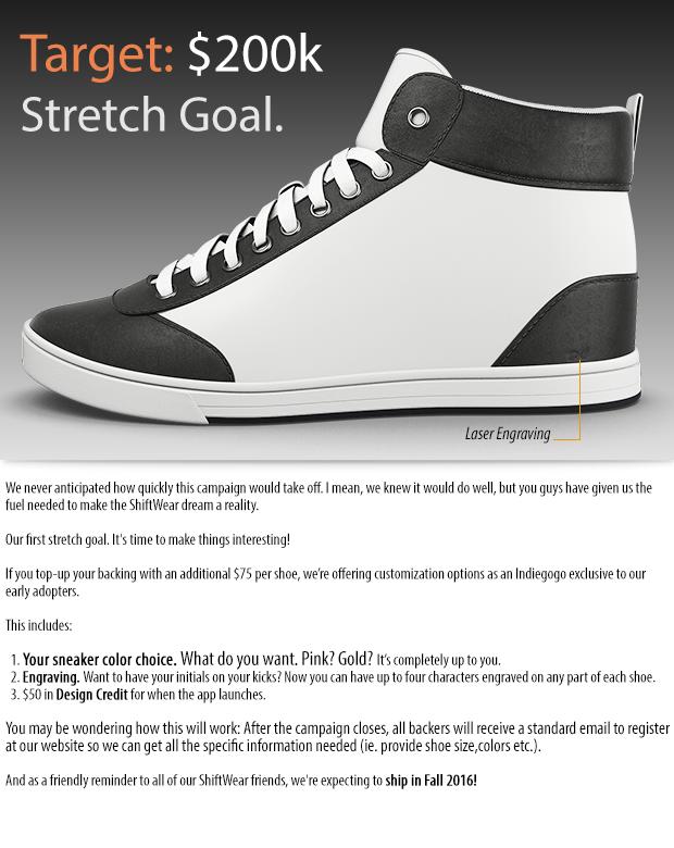 ShiftWear: Customize your kicks | Indiegogo