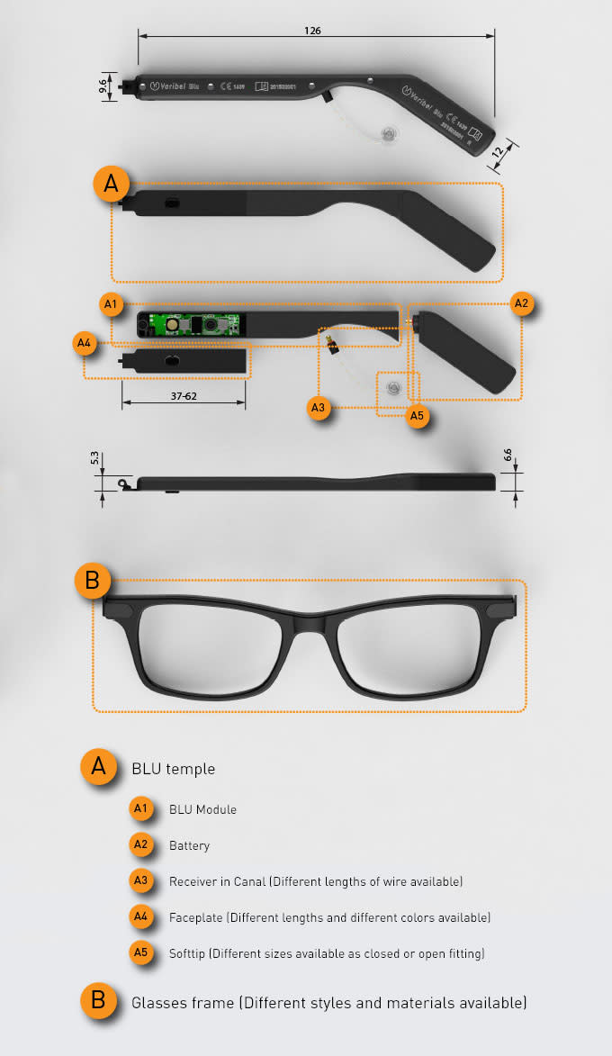 BLU - World\'s Most Versatile Hearing Glasses | Indiegogo