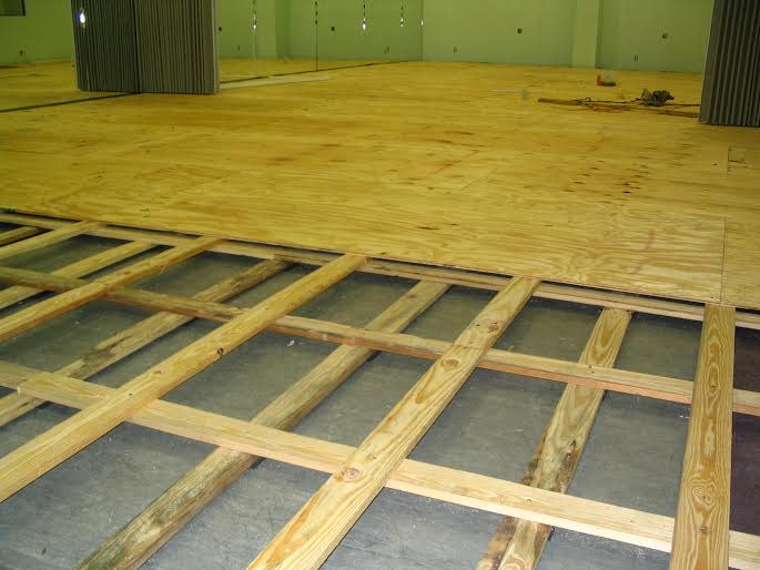 The alberta abbey indiegogo placing marley on top of this sprung dance floor enables dancers to use pointe shoes and prevents slipping solutioingenieria Choice Image
