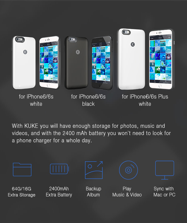 separation shoes 4db9b 1fa47 KUKE: Superpowers for Your iPhone   Indiegogo