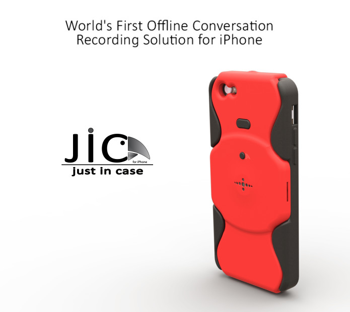 JIC - the first and only recording case for iPhone | Indiegogo