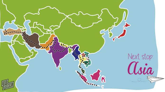 Sex going around the world