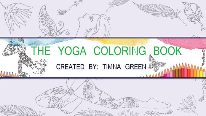 Yoga Coloring Book | Indiegogo