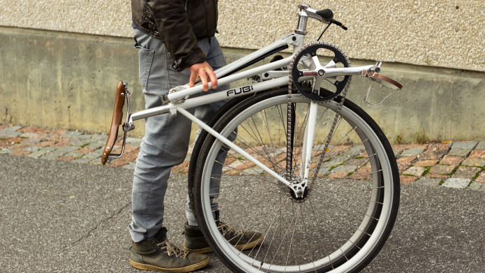 FUBi fixie-Transform your bike into a folding bike