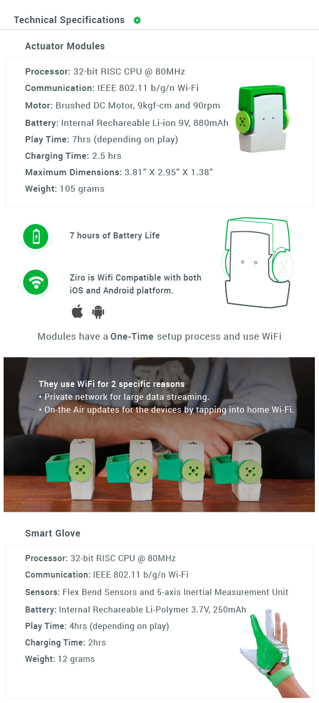 Ziro Worlds First Hand Controlled Robotics Kit Indiegogo Battery Basics Part 2 Backup Power Circuit Cellar Were A Team With Lot Of Experience In Creating Things And Delivering Them