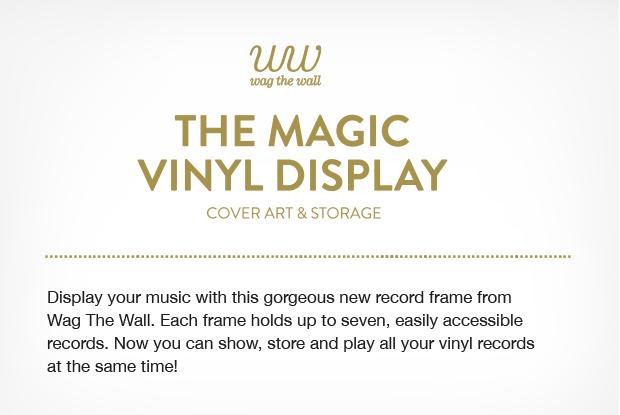 The Magic Vinyl Display | Indiegogo