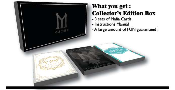 Mafia Card Game Indiegogo