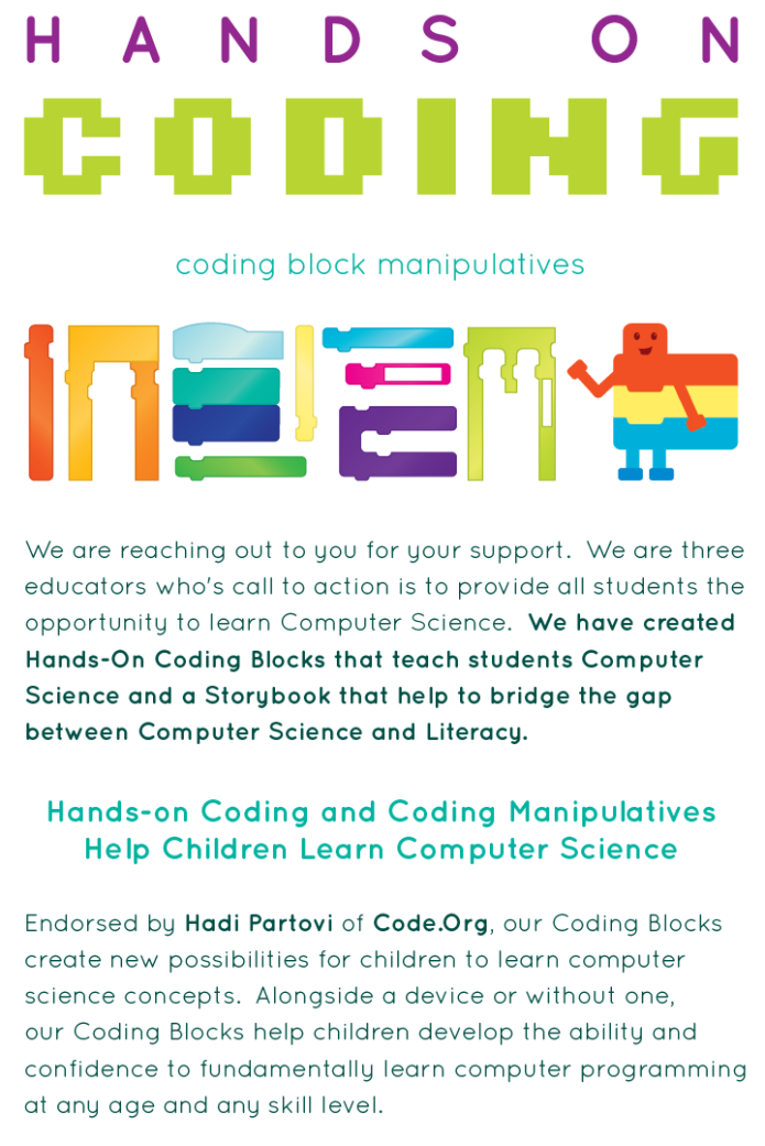 The Gap Between Science On Kids And >> Teach Kids Steam With Hands On Coding Blocks Indiegogo