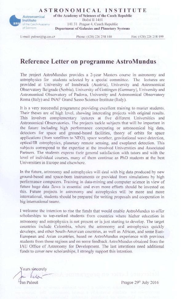 Train Astrophysics Professionals for Development | Indiegogo