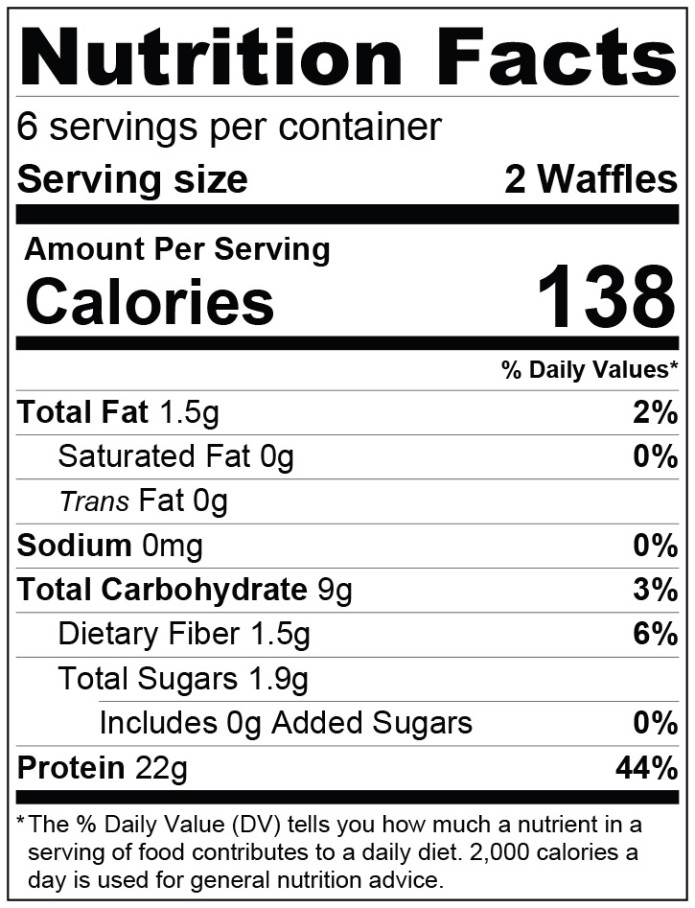 Wake up waffles high protein ready to go waffles indiegogo ingredients whey protein concentrate egg whites pumpkin gluten free whole grain rolled oats pure vanilla extract sodium bicarbonate baking soda fandeluxe Images