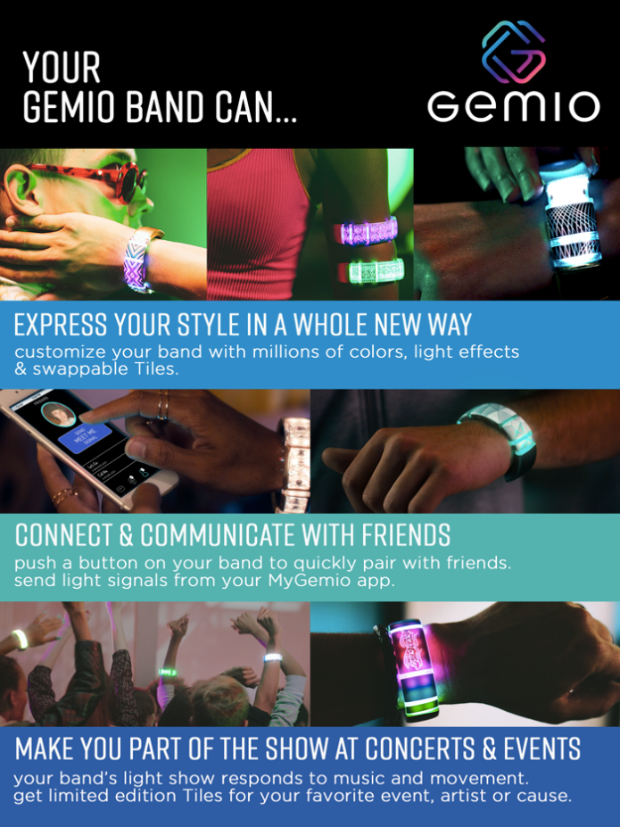 Customizable Smart Band that Lights Up Your Night | Indiegogo