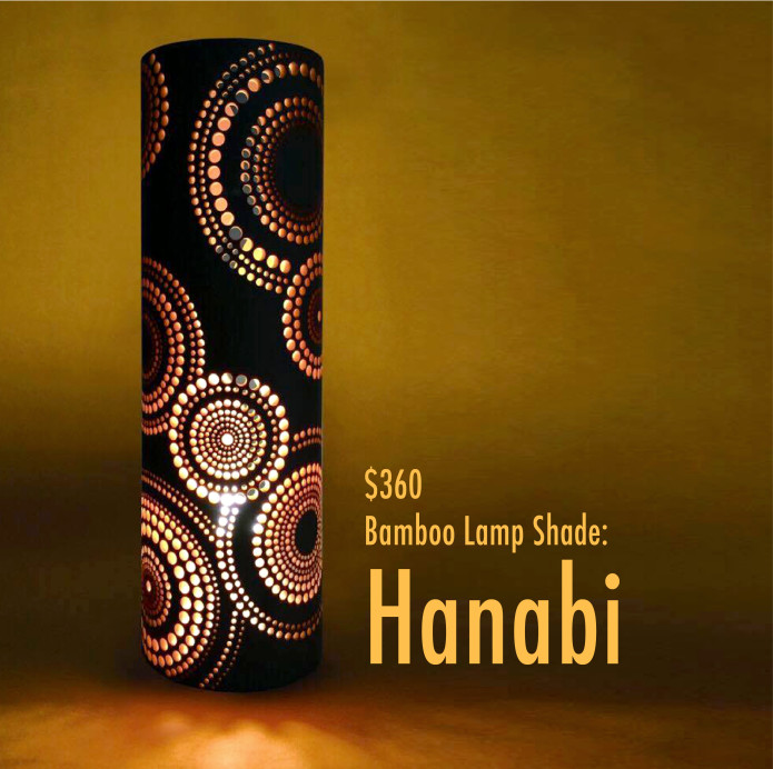 Take akari hand carved bamboo lampshades indiegogo 360 mozeypictures Gallery