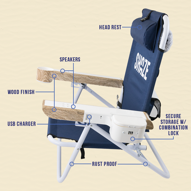shaze the ultimate lounge chair indiegogo