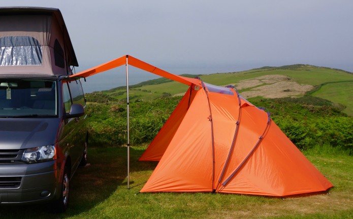 But Unlike Many Other Campervan Awnings There Are No Side Panels To Block The Light Or Obscure Your Views