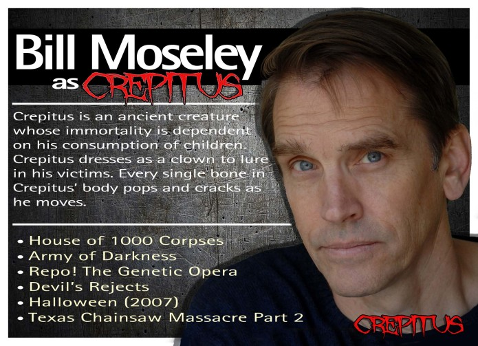 william bill moseley born november 11 1951 is an american film actor and musician who has starred in a number of cult classic horror films