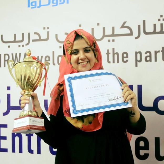 nlgm7yhaymdczdwib6y9 - Jurutera Wanita Palestin Cipta Bahan Binaan Menggunakan Debu