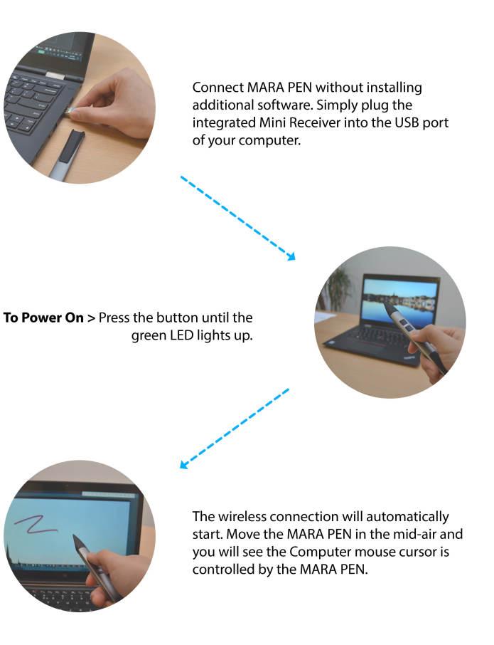 MARA PEN: An entirely new breed motion controller | Indiegogo