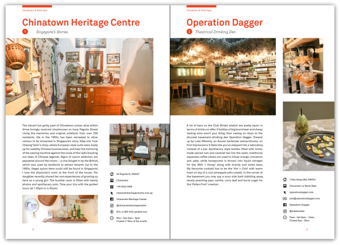 Lost Guides Singapore Travel Guide Book Indiegogo