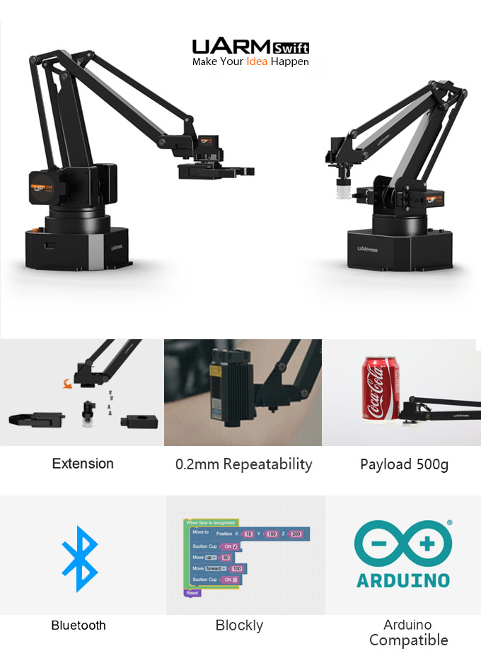 Share uArm with your Friends and Earn Rewards! | Indiegogo