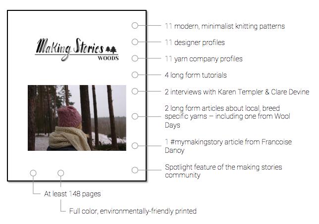 Woods Making Stories Indiegogo