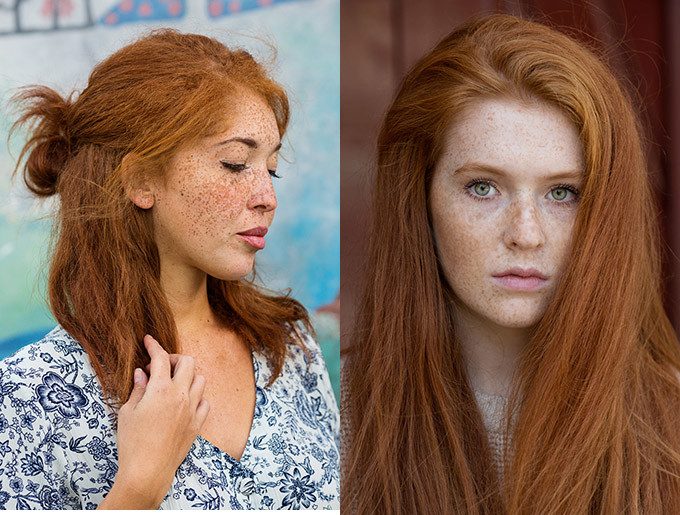 I Wanted It To Be Obvious These Photos Are Real Reflections Of The Model And For People To End Their Stereotypes Of Redheads
