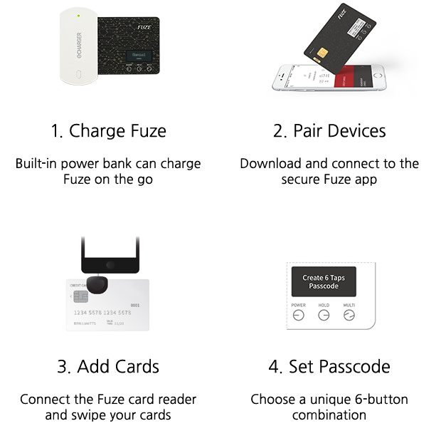 Fuze Card: Your Whole Wallet in One Card | Indiegogo