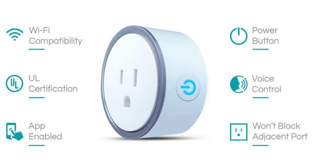intelliPLUG your friendly Wi-Fi Smart Plug | Indiegogo