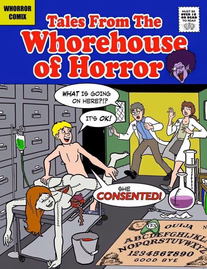 Horror-Porno-Comics