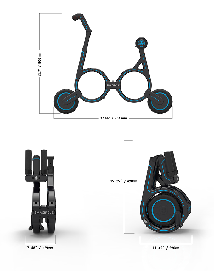 5dd922b3a1 Smacircle S1  The eBike That Fits In Your Backpack
