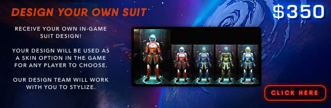 Space Odyssey The Video Game Indiegogo - Design your own character games