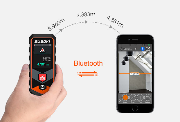 Youthink Laser Entfernungsmesser : Suaoki p7: ready to revolutionize how you measure indiegogo