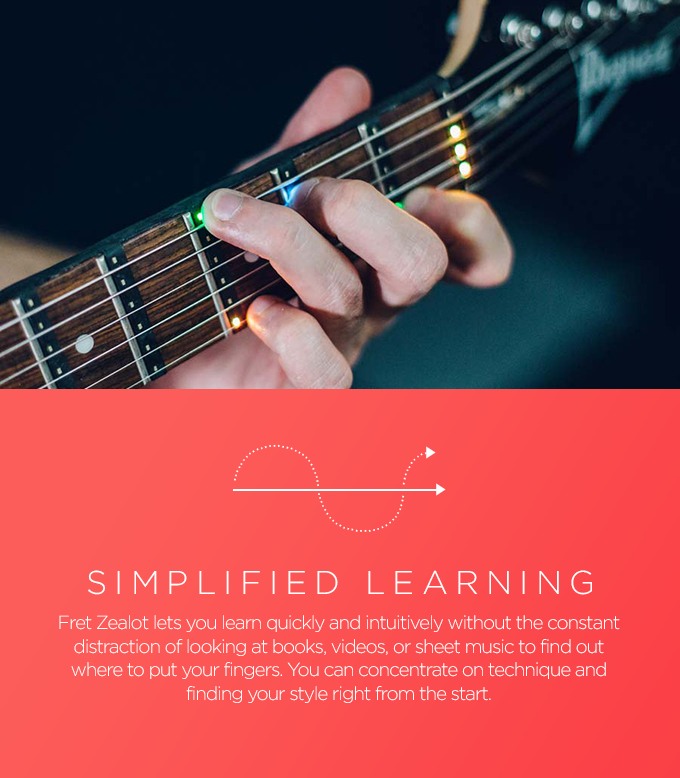 Fret Zealot Play Guitar In 60 Seconds Indiegogo