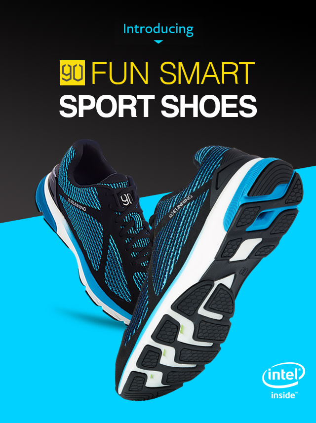 db7f9fb4fb9d The 90FUN Smart Sport Shoes are the world's first Intel™ powered smart shoes  to maximize athletic training, running and weight loss.