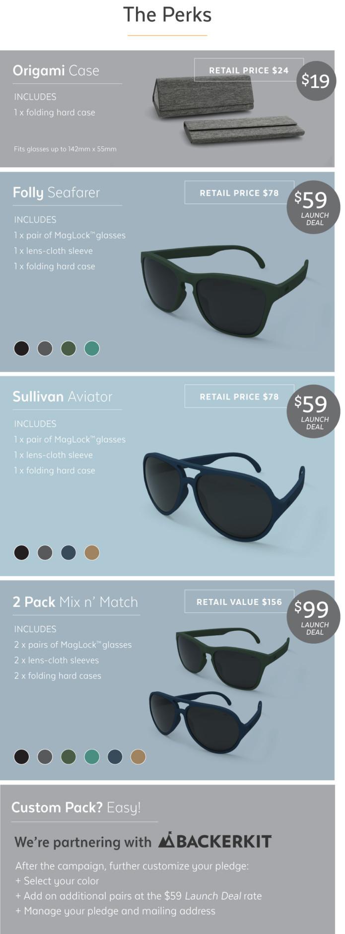 af74fa9d707f MagLock Sunglasses - Never dropped or left behind