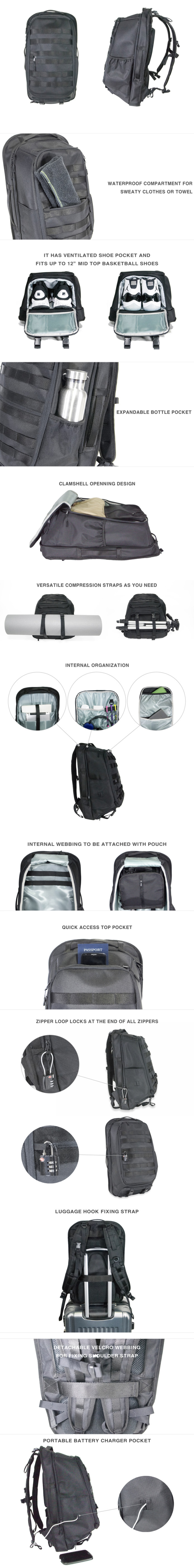 85a51187033 Bagram Pack  A Backpack for Office, Gym, Travel   Indiegogo